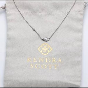 Kendra Scott Laureen Pendant Necklace - Silver